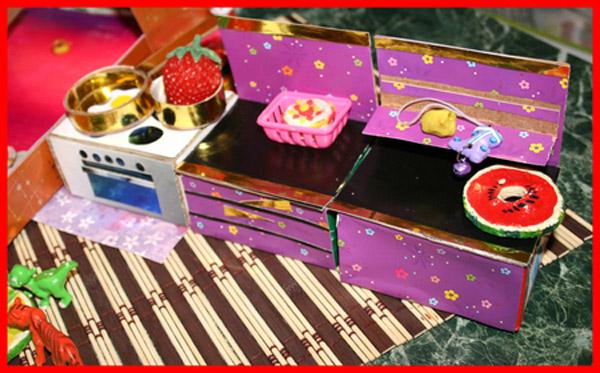 Мебель для кукол своими руками из подручного материала